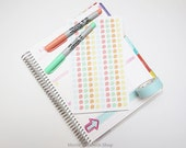 Mini Dew Drops Sticker Sheet : Sherbert Theme Planner Stickers