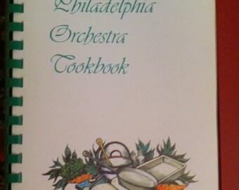 Vintage Cookbook The Philadelphia Orchestra  Cookbook 1980