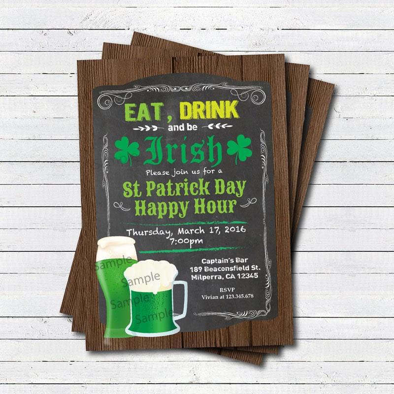 St patricks invite – St Patricks Day Party Invitations