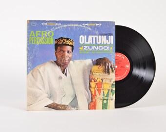 """OLATUNJI - """"Zungo!"""" vinyl record"""