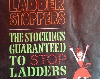Vintage 1960s Glamour Girl seam free stockings, nylons, lingerie.