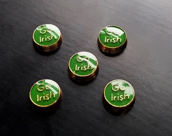 Go Irish Floating Charm for Floating Lockets-Gift Idea