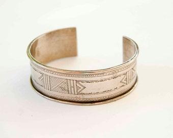 Tuareg cuff bracelet