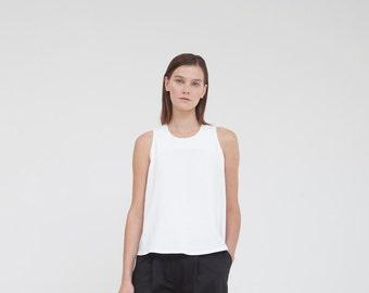 A shirt- White elegant top