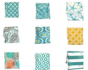 Pick your own wet bag set~wet dry bag~bridesmaid gift set~swim bag