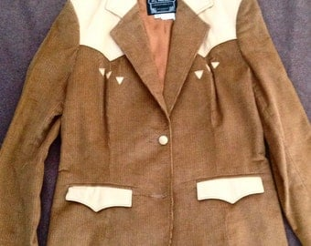 Pioneer Western blazer jacket size