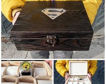 Superman box Etsy