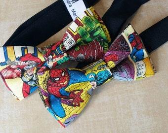 Kids Pre-Tied Bow Tie (Marvel Superheroes)