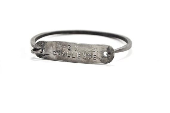 hinge on hand hinge bracelet hand forged steel rustic bracelets unisex