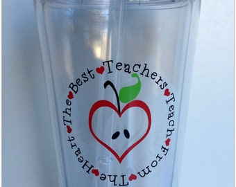 Teacher Appreciation Tumblers