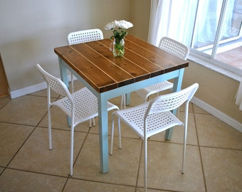 Farmhouse Breakfast Table - Table only - Small Dining Table