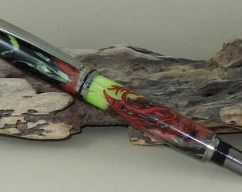 Baron Magical Red Dragon Pen