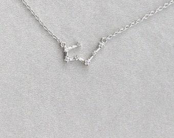 Sagittarius Sterling Silver Necklace - 020600017