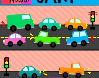 Traffic Jam Clip Art