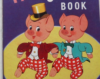 The Pinky and Perky Book 1960 Vintage Annual