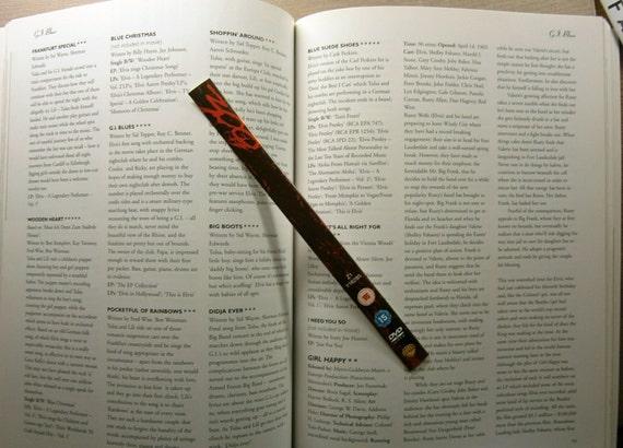 300 - Gerard Butler, Lena Headey, David Wenham - Recycled DVD bookmark spine