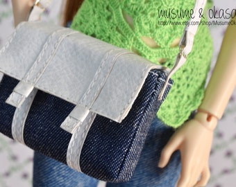 Messenger Bag for Minifee, Slim Mini, MSD and 1/4 BJDs