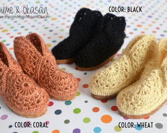 Autumn Boots [Color Choice] for Minifee A-Line, Withdoll and Slim Minis