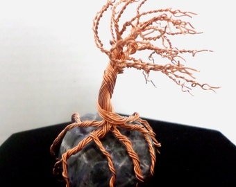 The Four Seasons Copper Wire Tree By Twistedfingerdesigns