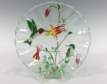Hummingbird candy dish Hummingbird bowl