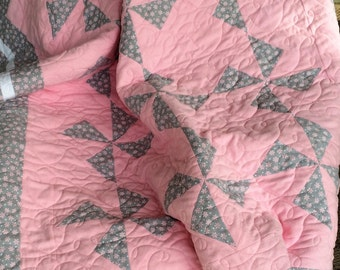 Minky and Flannel Quilt