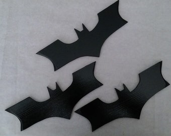 REPLICA WOODEN BATARANGS - Set of 3 (pouch included)