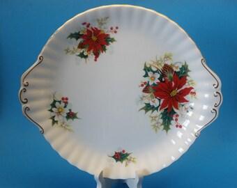 Royal Albert Yuletide Cake Plate