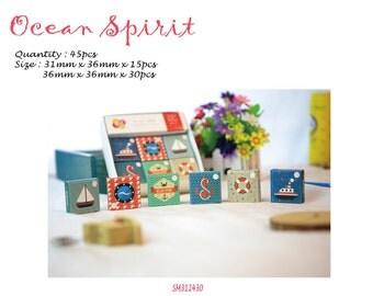 TangSi Ocean Spirit Stickers Pack SM312430 45pcs