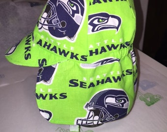 Baby Boy Seahawks Sun Hat