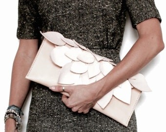 Leather Clutch Bag Purse Handmade in Australia using Eco Friendly Materials