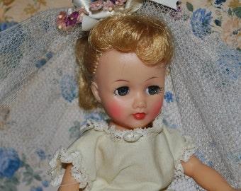 Lovely Vintage Little Miss Revlon Bridal Outfit! Rare Vintage Find!!!