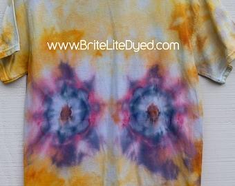 Tie Dye T Shirt MEDIUM-Tie Dye Clothing-Women's Clothing-Men's Clothing-T-Shirt-T Shirt-Hippie-Boho-Tiedyed-Ice Dyed-Hippy-Tiedye-Tye Dye