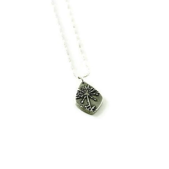 Dandelion Wish Necklace Necklace As Seen On Law and Order SVU and Golden Globes Swag Bags