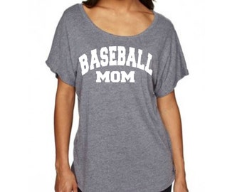 Baseball mom shirt/ baseball shirt for mom