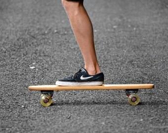 Rota Medio - Handcrafted Retro Oak Cruiser Skateboard