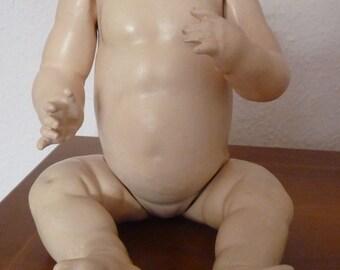 "Vintage Kestner JDK seat baby body Mischmasse about 1915 Germany approx. 35 cm / 13.8 """