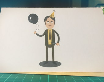 Dwight Schrute Birthday Card (The Office)