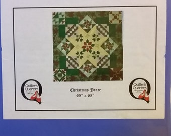 Christmas Peace Block of the Month Pattern - Shop Copy