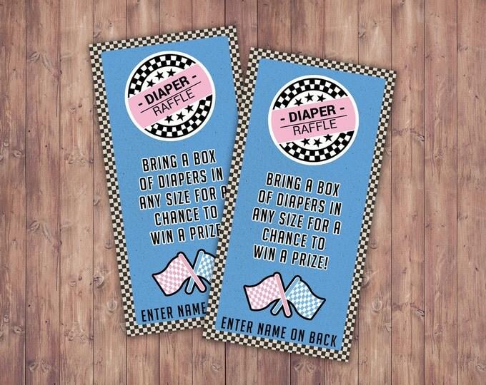 diaper request,Retro Race Car Invitation | Pitt Pass, Vintage Race Car Invite | Race Car Birthday, VIP pass, Gender reveal, baby shower