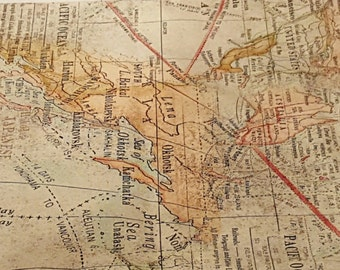 Mapping Your Travels Pillowcase