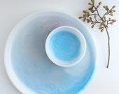 Resin Platter and Bowl