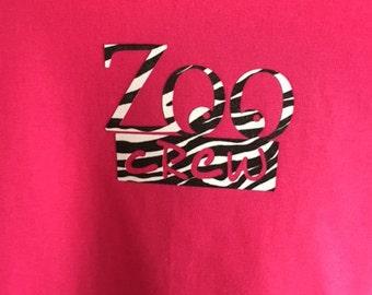 Childs T-Shirt - Zoo Crew