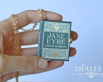 Custom Miniature Book Charm - 'Jane Eyre'