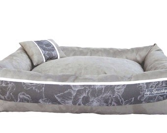 Dog Bed SARATOGA grey