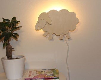 Wall lamp sheep, very nice for kids rooms, cheerful hip design!