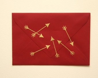 35 small  gold glitter arrow stickers, gold arrows, gold envelope seal, wedding invitation seal, silver glitter arrow,
