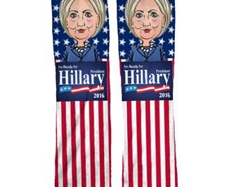 Hillary Clinton Democratic Socks