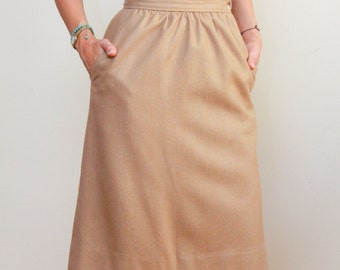 EVAN-PICONE | Neiman-Marcus | High Waisted | 80/20 Wool Skirt | Casual Daytime | Size 8 | Medium | LF.A22