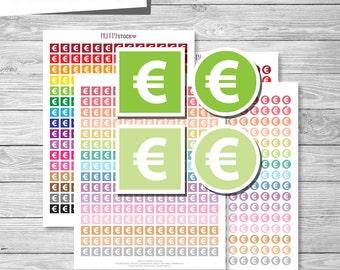 No Spend Stickers Money Stickers Printable Saving Stickers