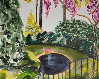 Wisteria Pond